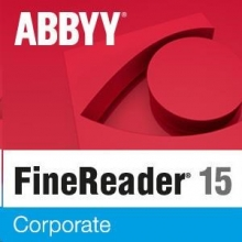 ABBYY FineReader 15 Corporate, Single User License (ESD), Perpetual
