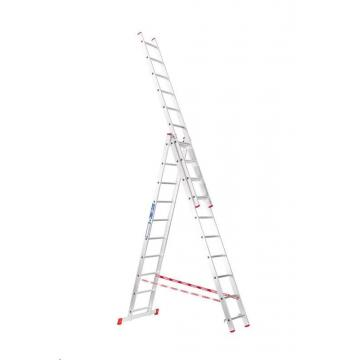 Venbos Hliníkový rebrík 3x10